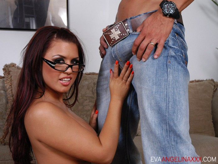 Eva Angelina Hand Job